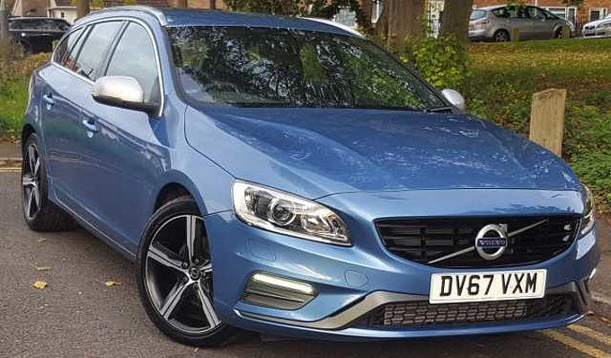 Volvo V60 D4 R-Design Lux Nav, Winter Pack, Rear Park Assist, Sensus Navigation, Leather