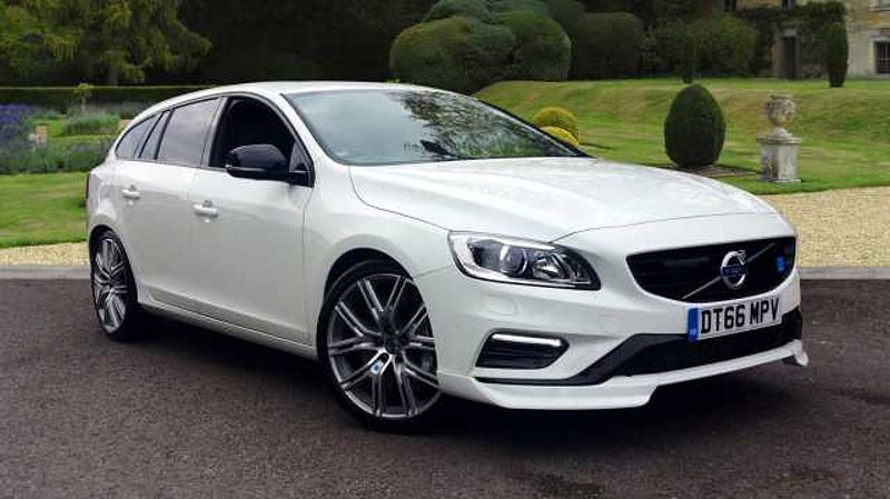 Volvo V60 Polestar (367) AWD Geartronic, NEW 2.0 Power Unit! Loaded with Nav, Sunroof, Camera, Sensors, BLIS, & MUCH MORE