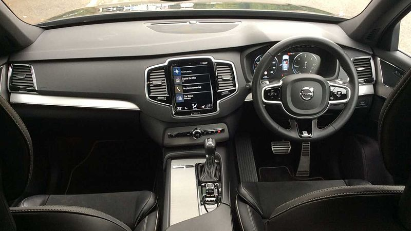 Volvo XC90 D5 PowerPulse AWD R-Design Automatic, Heated Seats, Front & Rear Sensors, Volvo On Call